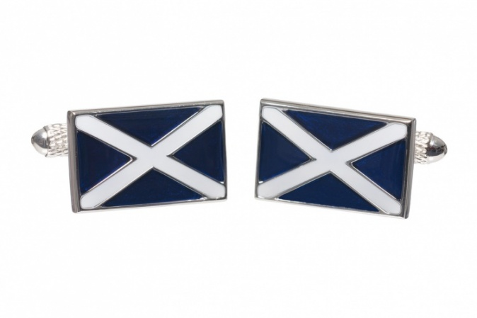 Scottish Flag Cufflinks